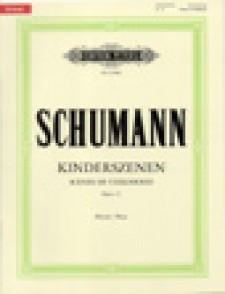 SCHUMANN R. SCENES D'ENFANTS OP 15 PIANO