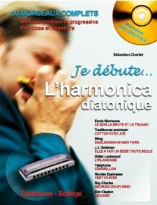 CHARLIER S. JE DEBUTE L'HARMONICA DIATONIQUE