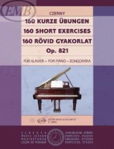 CZERNY K. 160 PETITES ETUDES OP 821 PIANO