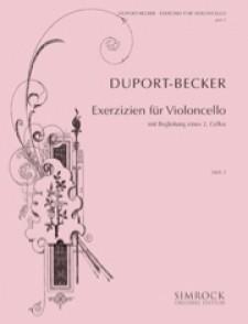DUPORT J.L. 21 ETUDES  VOL 2 VIOLONCELLE