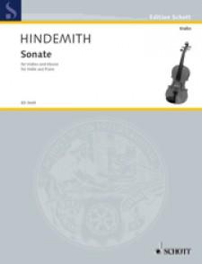 HINDEMITH P. SONATE  (1939) VIOLON