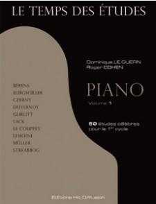 LE GUERN D./COHEN R. LE TEMPS DES ETUDES PIANO