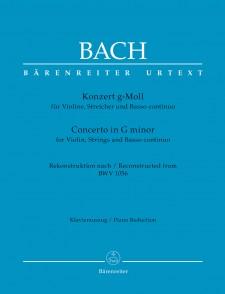 BACH J.S. CONCERTO BWV 1056 VIOLON
