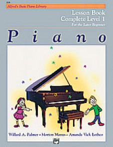ALFRED'S BASIC PIANO LIBRARY LESSON BOOK 1