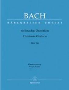 BACH J.S. ORATORIO DE NOEL CHANT  BWV 248 PIANO