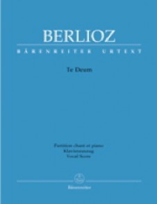 BERLIOZ H. TE DEUM CHANT PIANO