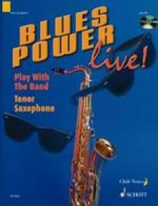 BLUES POWER LIVE PLAY WITH THE BAND SAXO TENOR