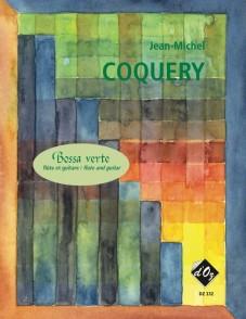 COQUERY J.M. BOSSA VERTE FLUTE ET GUITARE