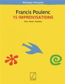 POULENC F. IMPROVISATIONS PIANO