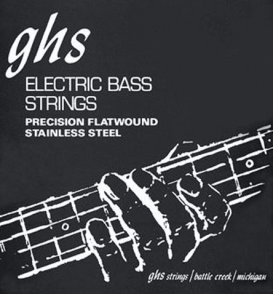 JEU DE CORDES BASSE GHS STRINGS 3050M FILE PLAT STAINLESS STEEL