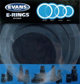 EVANS ATTENUATEUR D'HARMONIQUES PACK E-RING