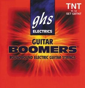 JEU DE CORDES ELECTRIQUE GHS STRINGS GBTNT BOOMERS FILE ROND 10/52