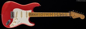 FENDER CUSTOM SHOP NAMM 2017 LIMITED EDITION STRATOCASTER RELIC IN AGED FIESTA RED