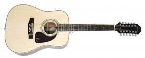 EPIPHONE DR-212 DREADNOUGHT 12 CORDES NATUREL