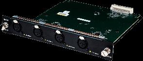 ALLEN & HEATH 4 DUAL IN AES POUR DX32 M-DX32-DIN