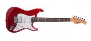 PRODIPE GUITARS ST83RA CANDY APPLE RED