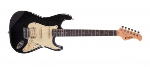 PRODIPE GUITARS ST83RA BLACK