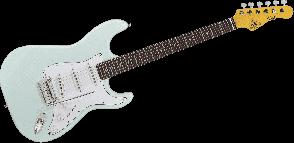 G&L TS500-SBL-R STANDARD SONIC BLUE PALISSANDRE