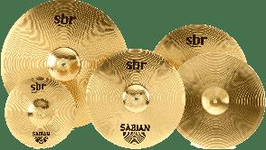 "SABIAN SBR5003G SET HARMONIQUE SBR PROMO 14""-16""-20"" + SPLASH 10"" OFFERT"