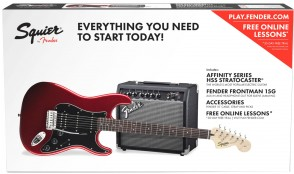 PACK SQUIER AFFINITY SERIES STRATOCASTER HSS CANDY APPLE RED