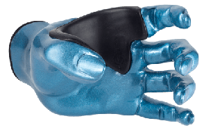 SUPPORT MURAL GUITARE GRIP FEMALE PLACID BLUE LEFT GG013