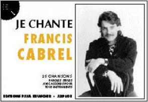 CABREL FRANCIS JE CHANTE