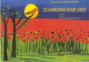 METRATONE A. 23 CHANSONS 2 OU 3 ALTOS