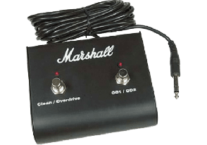 FOOTSWITCH MARSHALL 2 VOIES AVEC LED PEDL10013