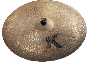 ZILDJIAN K CUSTOM RIDE 20 LEFT SIDE