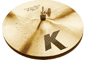 ZILDJIAN K CUSTOM HI HATS 14 DARK HATS