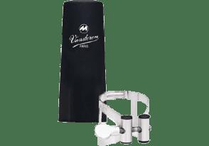 LIGATURE CLARINETTE  BASSE ARGENT VANDOREN LC54SP +CB PLASTIQUE