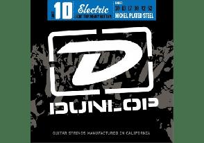 JEU DE CORDES ELECTRIQUE DUNLOP STRINGS DEN1052 FILE ROND NICKEL 10/52