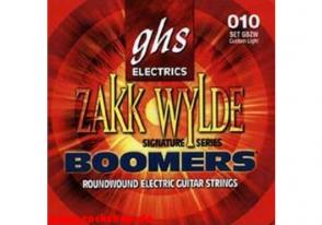 JEU DE CORDES ELECTRIQUE GHS STRINGS GBZW BOOMERS FILE ROND 10/60