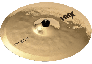 SABIAN HHX CRASH 17 EVOLUTION EFFET