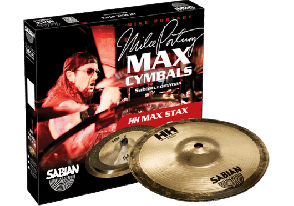 SABIAN HH STACK MAX STAX MIKE PORTNOY -15005MPH