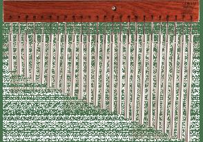 SABIAN CHIMES 24 TUBES ALUMINIUM - 61174a-24