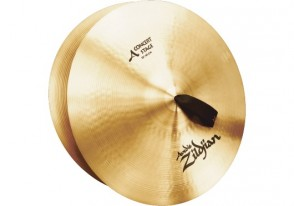 """ZILDJIAN A CYMBALES FRAPPEES 18"""" CONCERT STAGE - LA PAIRE"""