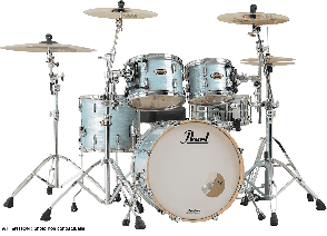 """PEARL MASTER MCT924XEPC-414 ROCK 22"""" 4 FUTS ICE BLUE OYSTER"""