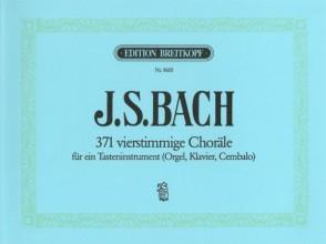 BACH J.S. 371 VIERSTIMMIGE CHORALE ORGUE
