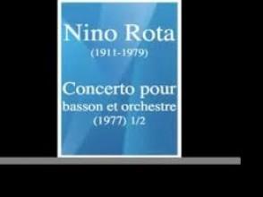 ROTA N. CONCERTO BASSON ET ORCHESTRE