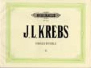 KREBS J.L. ORGELWERKE VOL 2 ORGUE