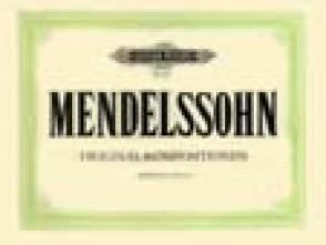 MENDELSSOHN F. ORIGINAL KOMPOSITIONEN PIANO 4 MAINS