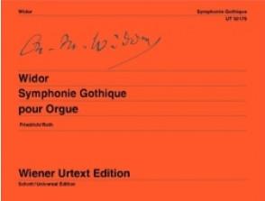 WIDOR C.M. SYMPHONIE GOTHIQUE OP 70 ORGUE