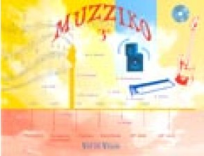 ANDRE D./AUDARD Y./BLAISE J.P./KAESER D. MUZZIKO 3ME LIVRE + CD