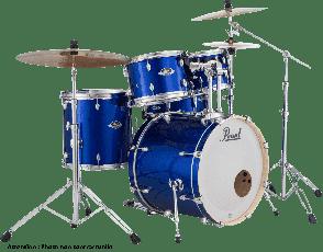 """PEARL EXPORT ROCK 22"""" 5 FUTS - HIGH VOLTAGE BLUE EXX725SBRC-717"""
