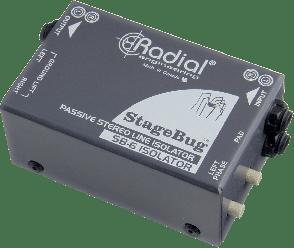 BOITE DE DIRECT RADIAL ISOLATEUR DE LIGNE STEREO SB-6-ISOLATOR