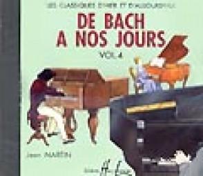 DE BACH A NOS JOURS VOL 4A PIANO CD