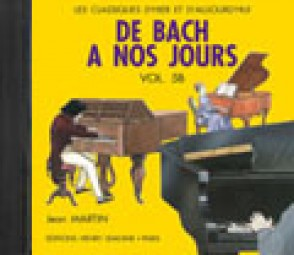 DE BACH A NOS JOURS VOL 5B PIANO CD