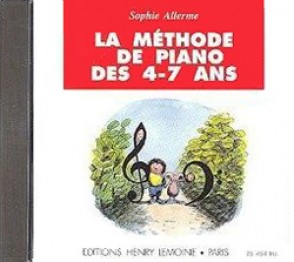 ALLERME S. METHODE DE PIANO 4 - 7 ANS CD
