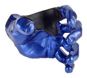 SUPPORT MURAL GUITARE GRIP MALE DEEP BLUE LEFT GG005